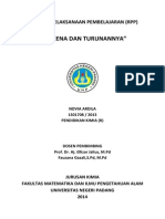 RPP Benzena Dan Turunannya Kurikulum 2013