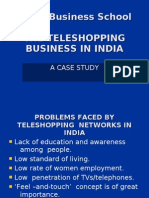 The Teleshopping Business in India