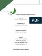 Estudio de Mercado Desiciones Mercadologicas