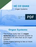 Các hệ cơ quan