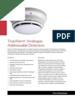 FINAL SimplexFireProducts TrueAlarmAnalogueAddressableDetectorsDataSheet 2Aug05