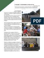 Visita de Mark Cavendish a Paraguay