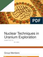 NT for Uranium Exploration