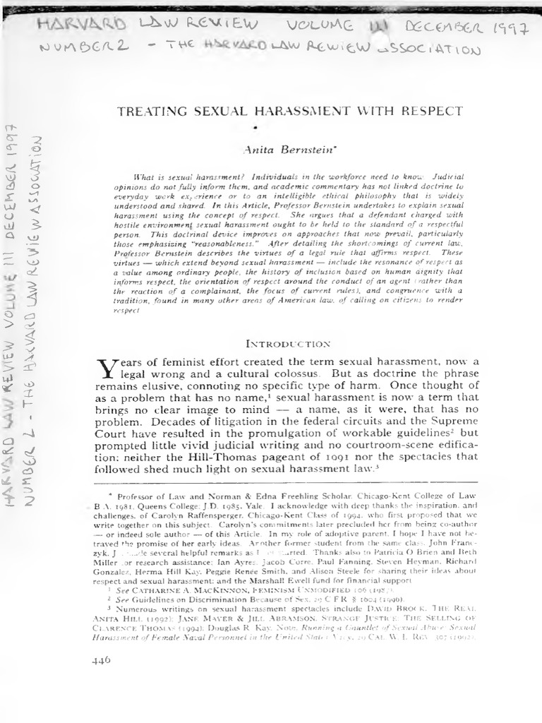 Synonym hostile environment sexual harassment