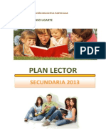 Plan Lector Secundaria