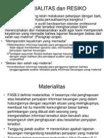 BAB 9 Materialitas & Resiko