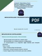 Microcontrolador- Procesador Digital de Señales 1 Sep-Ene 2015