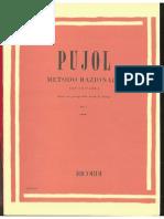 Emilio Pujol - Metodo Razionale Per Chitarra Vol I (1)