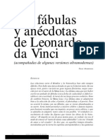 FABUALAS de Leonardo Da Vinci