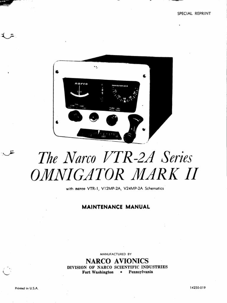 VTR2A Omnigator MKII Service Manual | Detector (Radio) | Amplifier on
