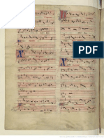 Manuscript Bibliotheque Nationale de France Score