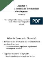 Chapter 7 Ecological Limits and Economic Devlopment