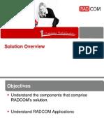 Radcom Solution Overview