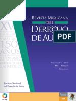 Rev Mex Derecho Autor