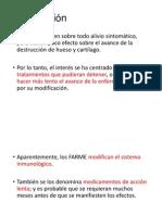 Fármacos Antirreumáticos Modificadores de La Enfermedad, FARME