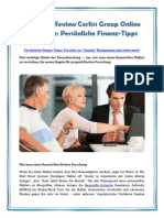 Financial Review Corliss Group Online Magazine: Persönliche Finanz-Tipps