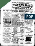 Heidelberg News January 1901