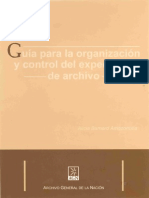 ALA Guia Para La Organizacion y Control de Expediente de Archivo