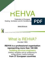 REHVA Presentation 07.2014