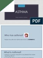 Asthma Lesson
