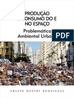 Rodrigues, Arlete Moyses - Problematica Ambiental Urbana