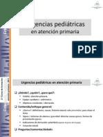 Urgencias Pediatricas en Atencion Primaria