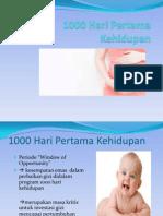 1000 Hari Pertama Kehidupan PPT