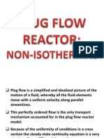 Plug Flow Reactor Non Isothermal