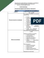 ETAPA NACIONAL Especificaciones