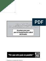 AP Plan de Gobierno