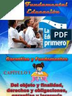 Ley Fundamental de Educación