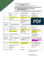 Jadwal UAS Singkat Ganjil 2014-2015 (1)