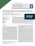 Article-Conceptual Design of Cost Effec Environ Configu for EtOHprdn