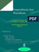 CRP 1.1-2 Pengantar Penelitian Kesehatan-KBK2