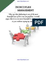 Principles of Mangement MG2351 Notes
