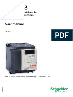 schneider atv303 (1) pdf | Cable | Electrical Wiring