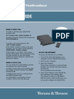 FBB150 TT3744A Quick Guidel TT98-129219-A