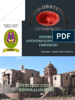 sindrome antifosfolipidico embarazo
