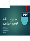 What Egyptian Workers Want -V 9.0