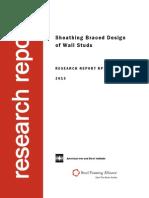 Sheathing Braced Design