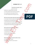 TOEFL Grammar Test11