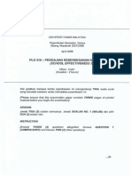 Plg 516 - Pengajian Keberkesanan Sekolah April 08