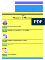 Lista de Manuales