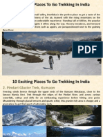 10 Exciting Places to Go Trekking in India