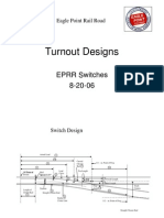 2006 EPRR Turnout Designs