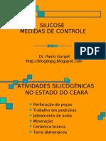 SILICOSE - MEDIDAS DE CONTROLE