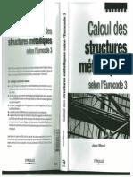 Jean Morel Calcul Des Structures Métalliques Selon l'Eurocode 3