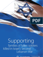 Supporting Families of Fallen Soldiers Killed in Israel's Second Lebanon War