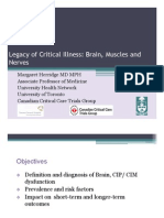 Legacy of Critical Illness