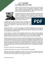 Gurdjieff - Ultima Hora de Vida